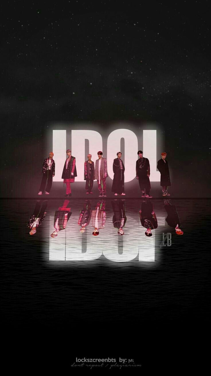 BTS IDOL Official MV WALLPAPER MOCHIANNY BTS 736x1308