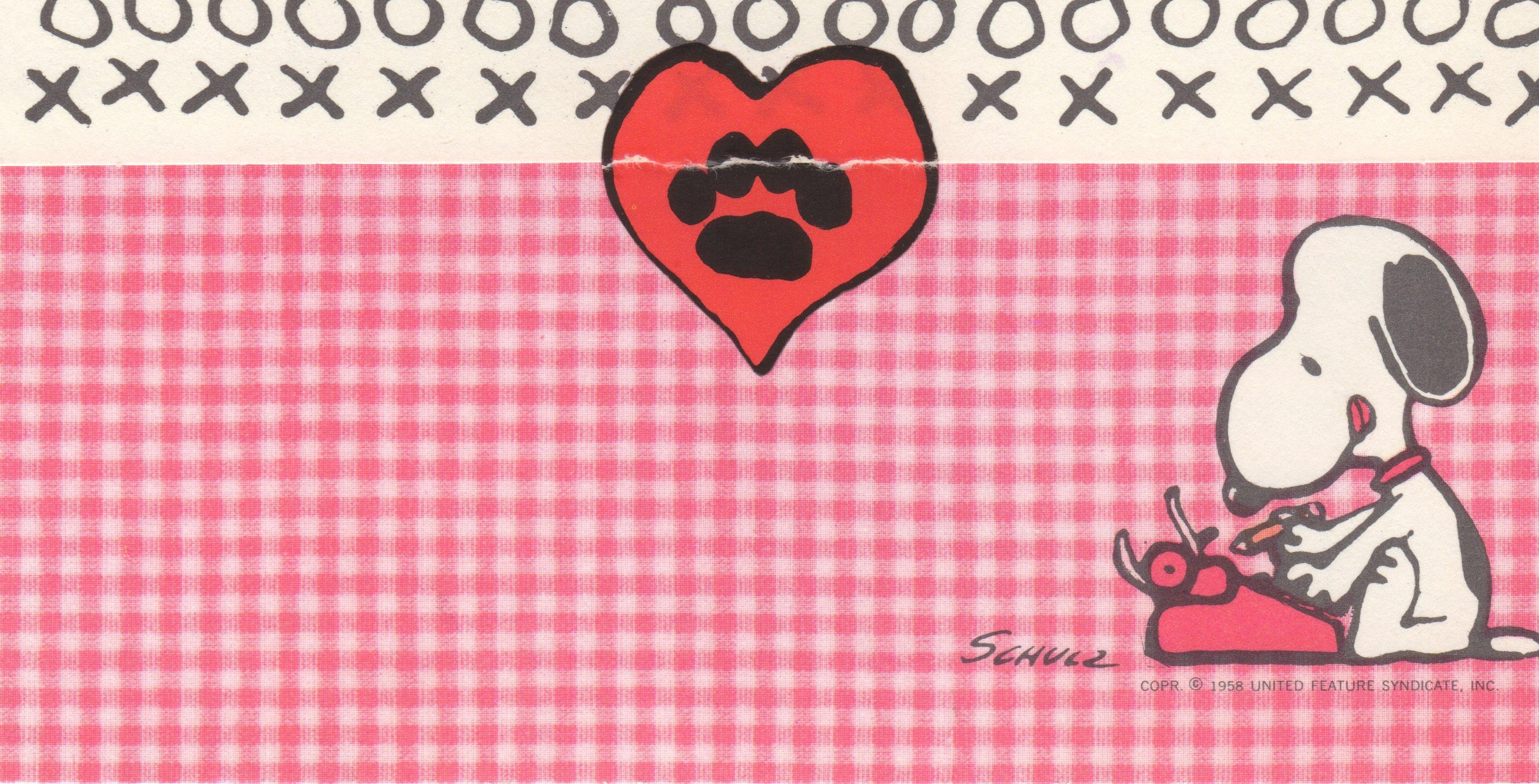 49] Peanuts Valentines Wallpaper on WallpaperSafari 3333x1700