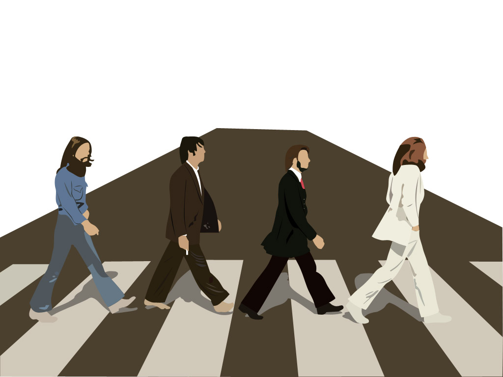 Doctor who abbey road wallpaper wallpapersafari for Beatles tattoo abbey road