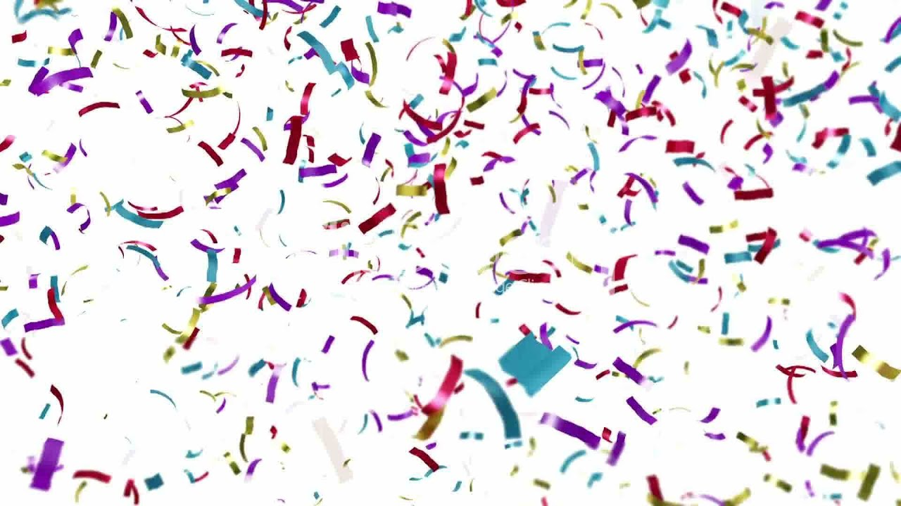 Slow Motion confetti raw 1920x1080