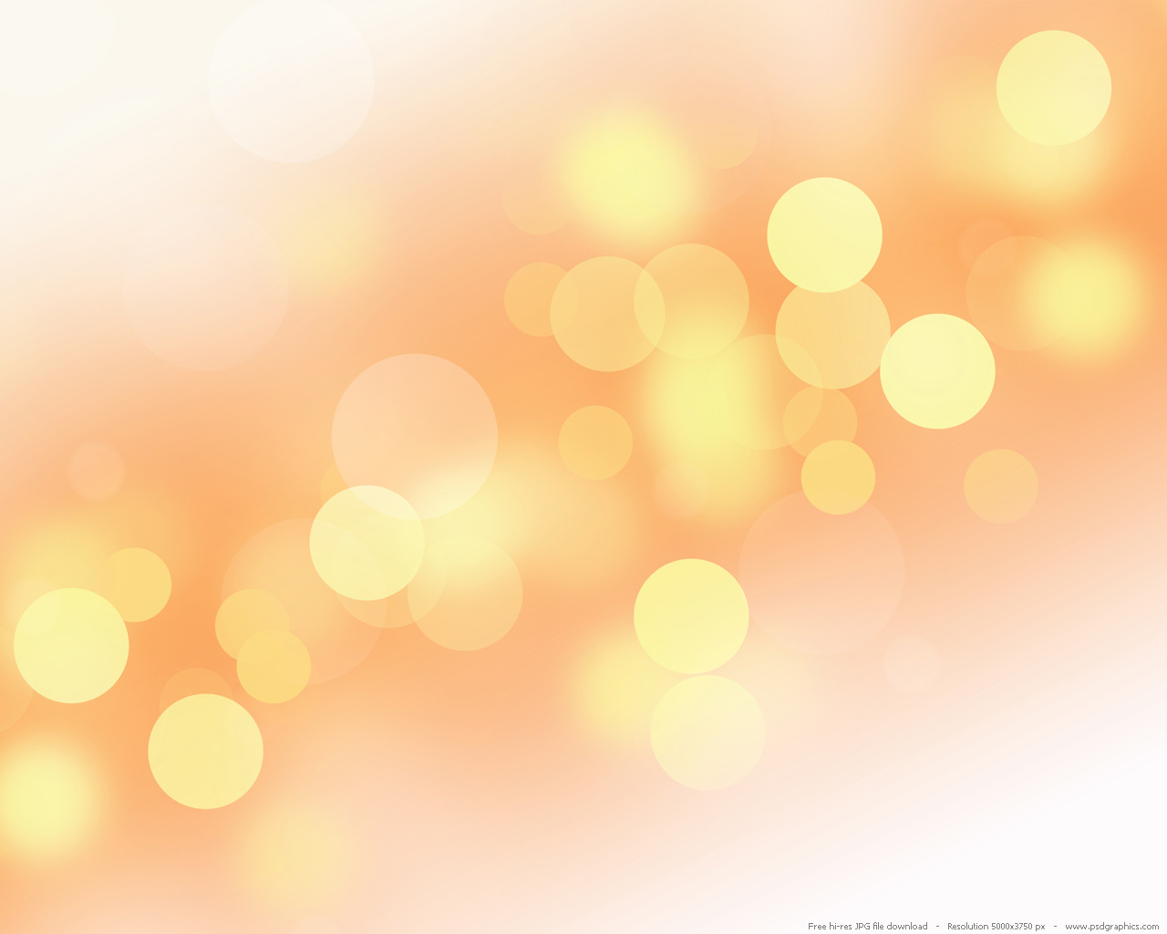 Soft yellow background PSDGraphics 1280x1024