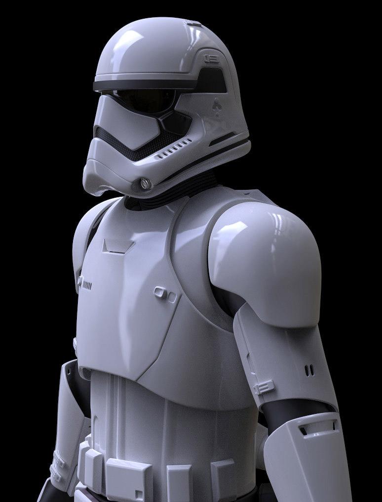 3D Art First Order Stormtrooper 774x1015