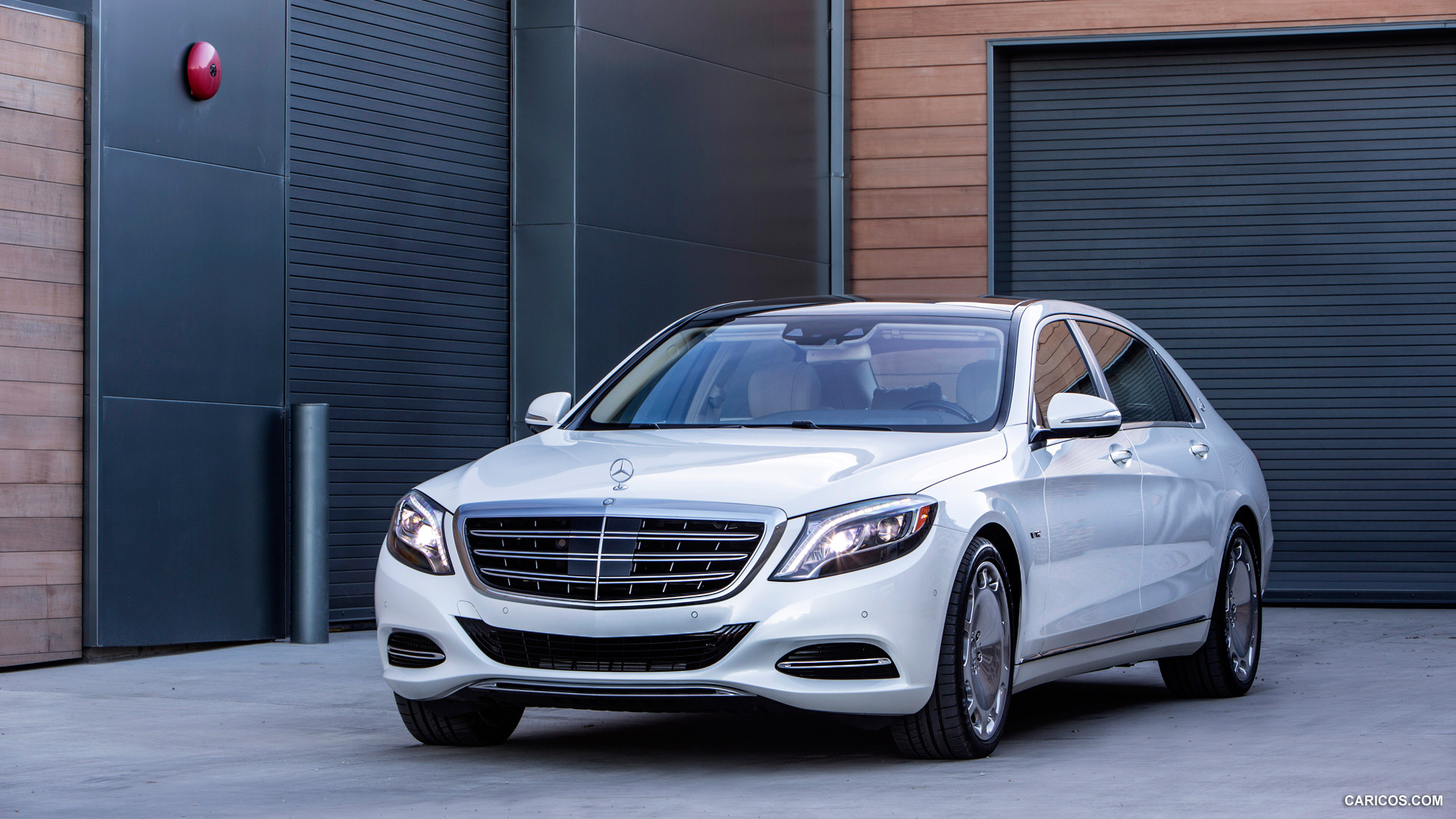 download 2016 Mercedes Maybach S Class S600 Front HD 1920x1080