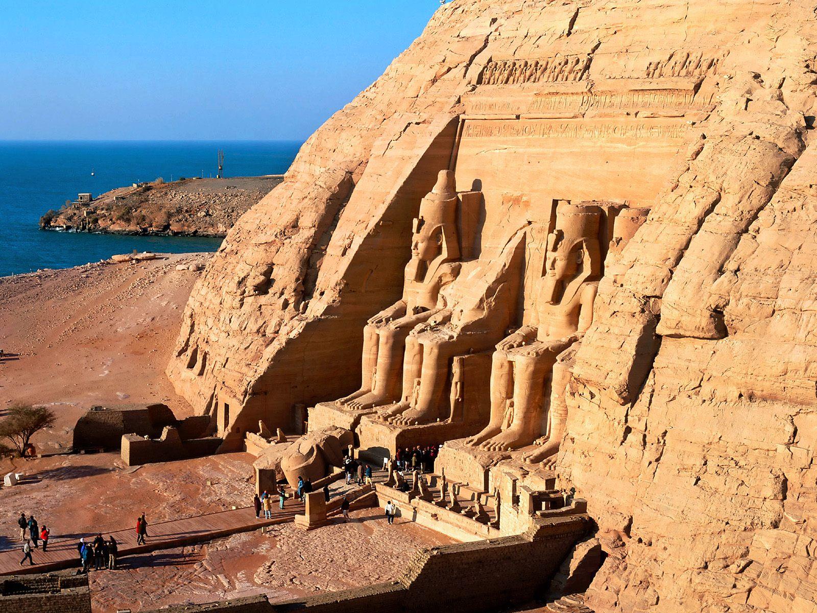 Free HQ Abu Simbel Near Aswan Egypt Wallpaper - Free HQ Wallpapers