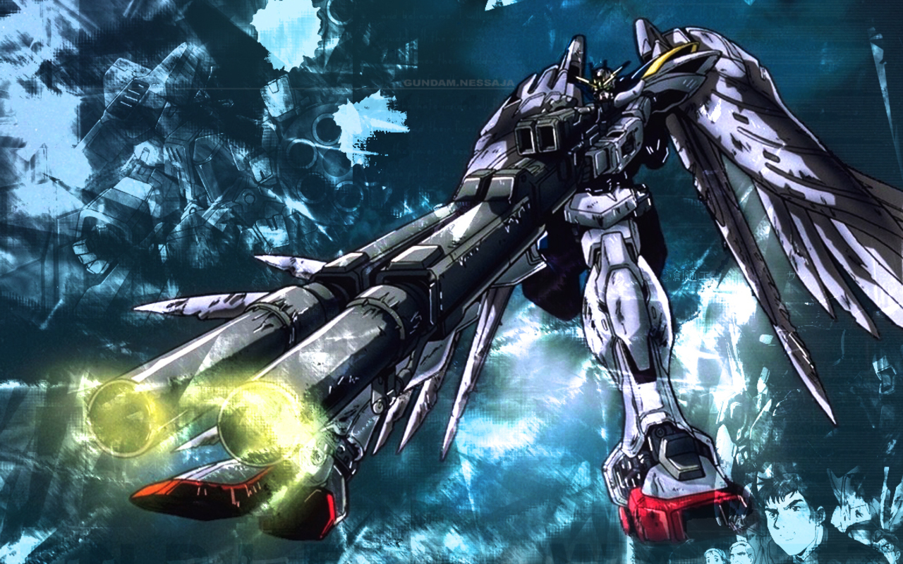 Gundam Wing Wallpaper 1280x800 Gundam Wing 1280x800