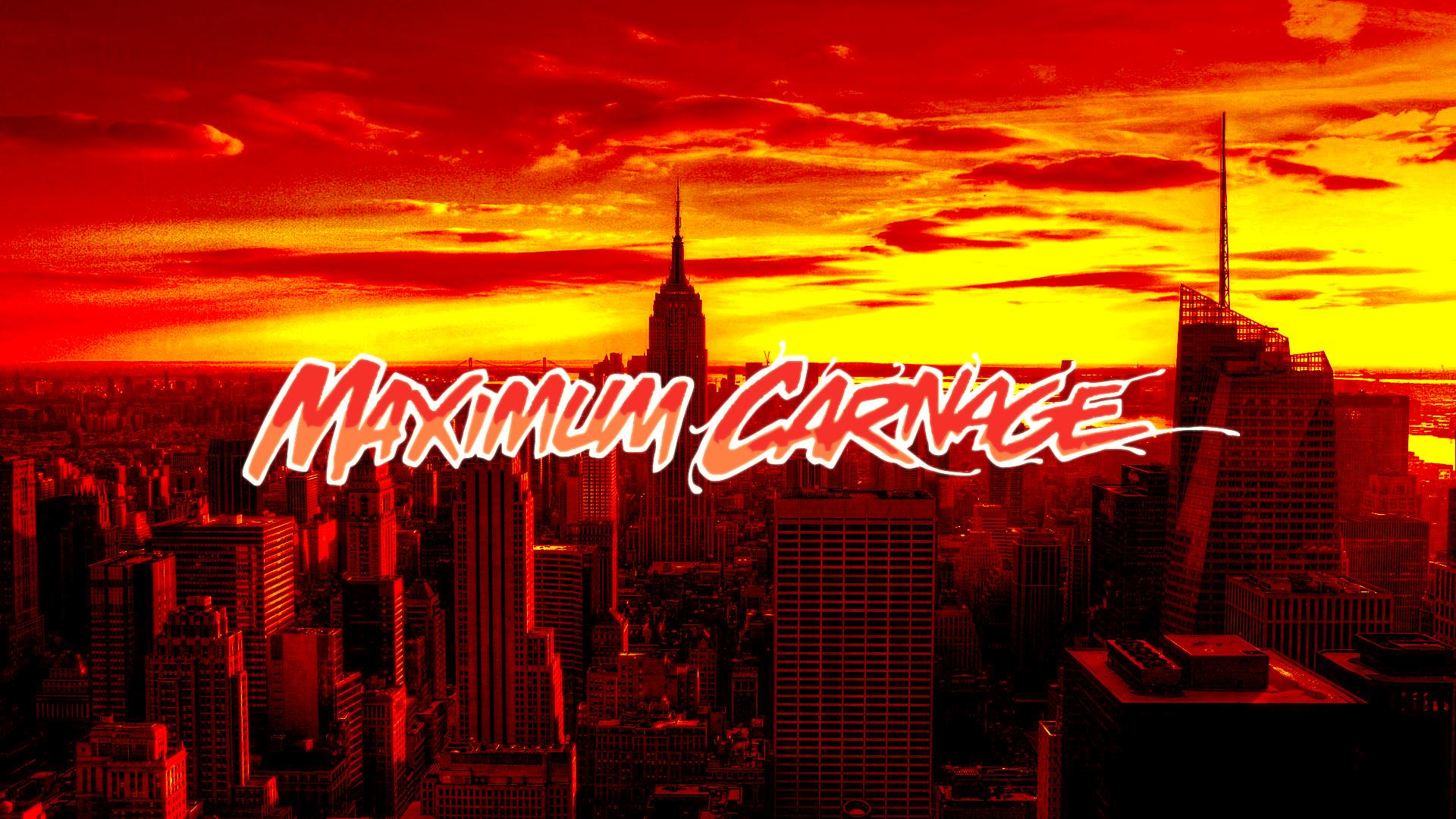 Maximum Carnage Wallpaper Hd Maximum carnage cover no 1920x1080