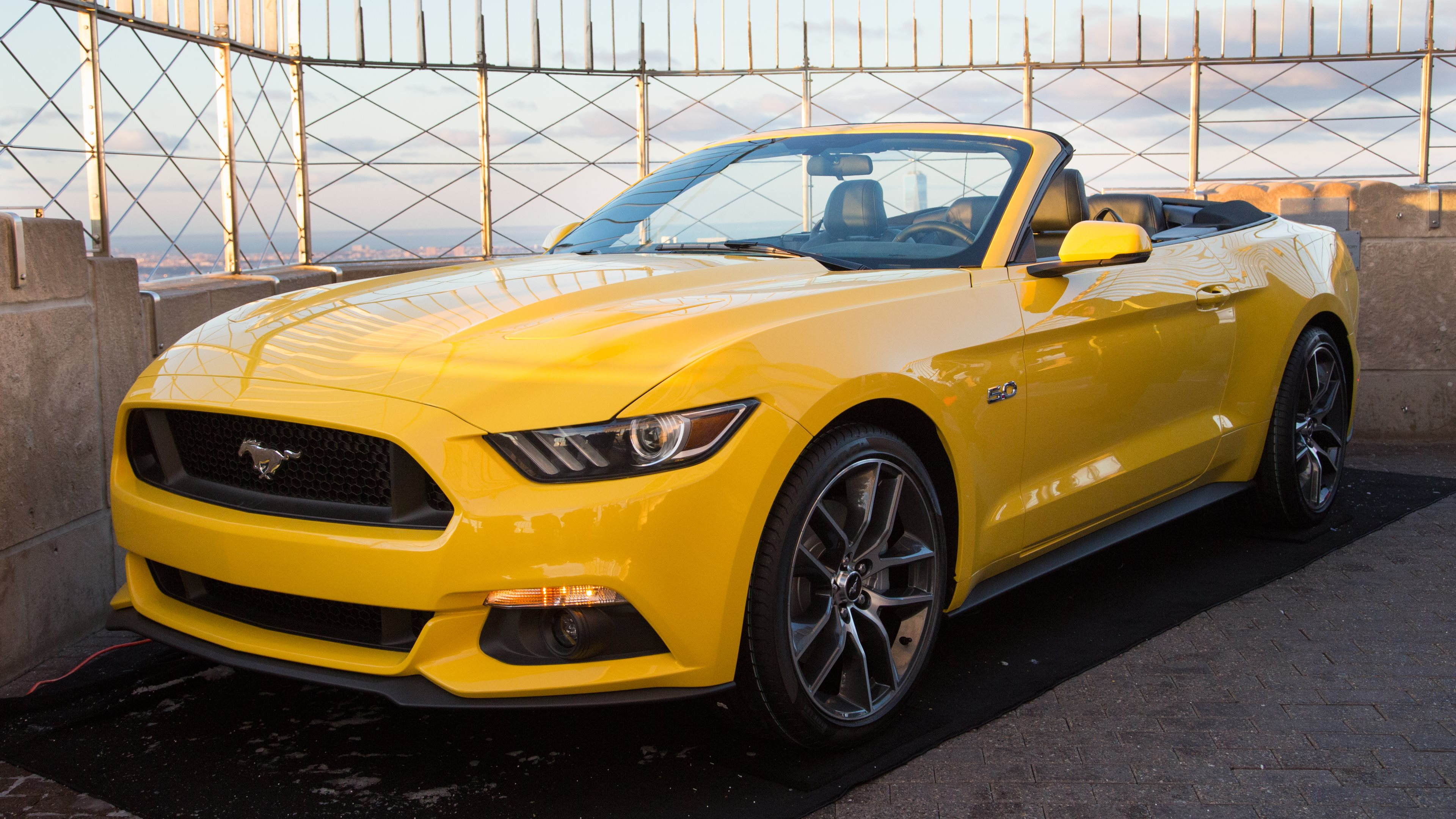 2015 Ford Mustang Convertible HD Wallpapers 4K Wallpapers 3840x2160