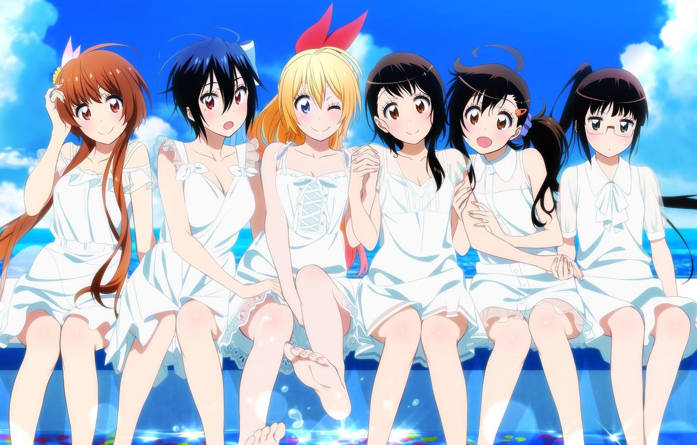 Wallpaper girls anime art nisekoi Seishiro Of Tsugumi Chito 1332x850