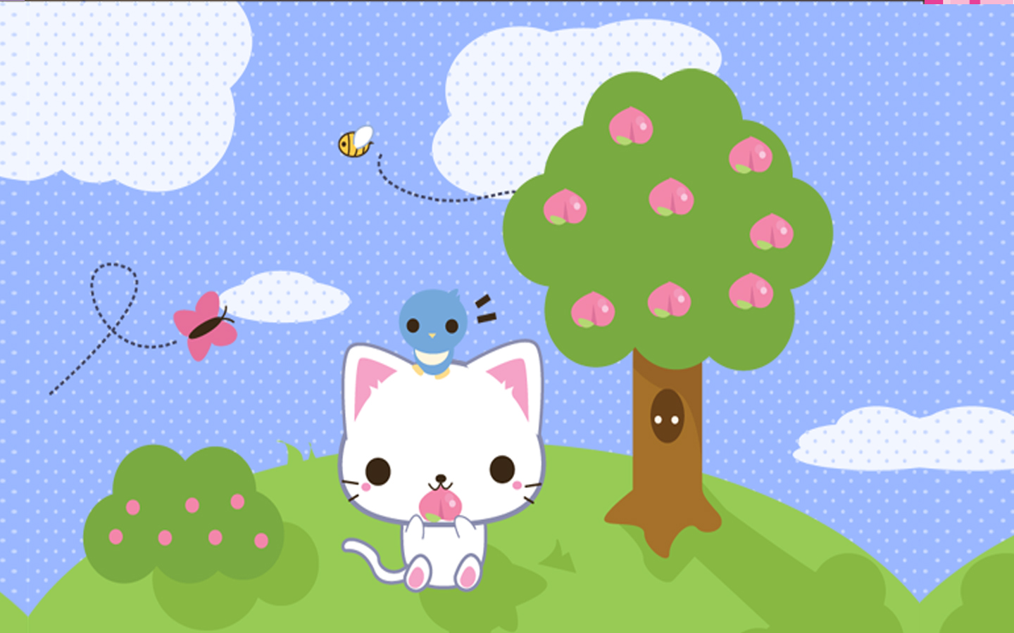 Neko kawaii wallpaper   ForWallpapercom 1440x900