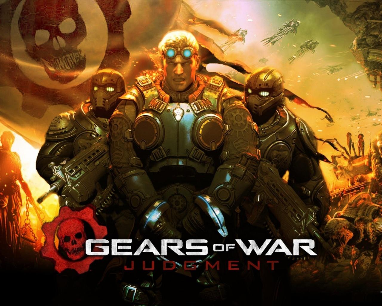 1280x1024 2013 Gears of War Judgment Gam desktop PC and Mac wallpaper 1280x1024