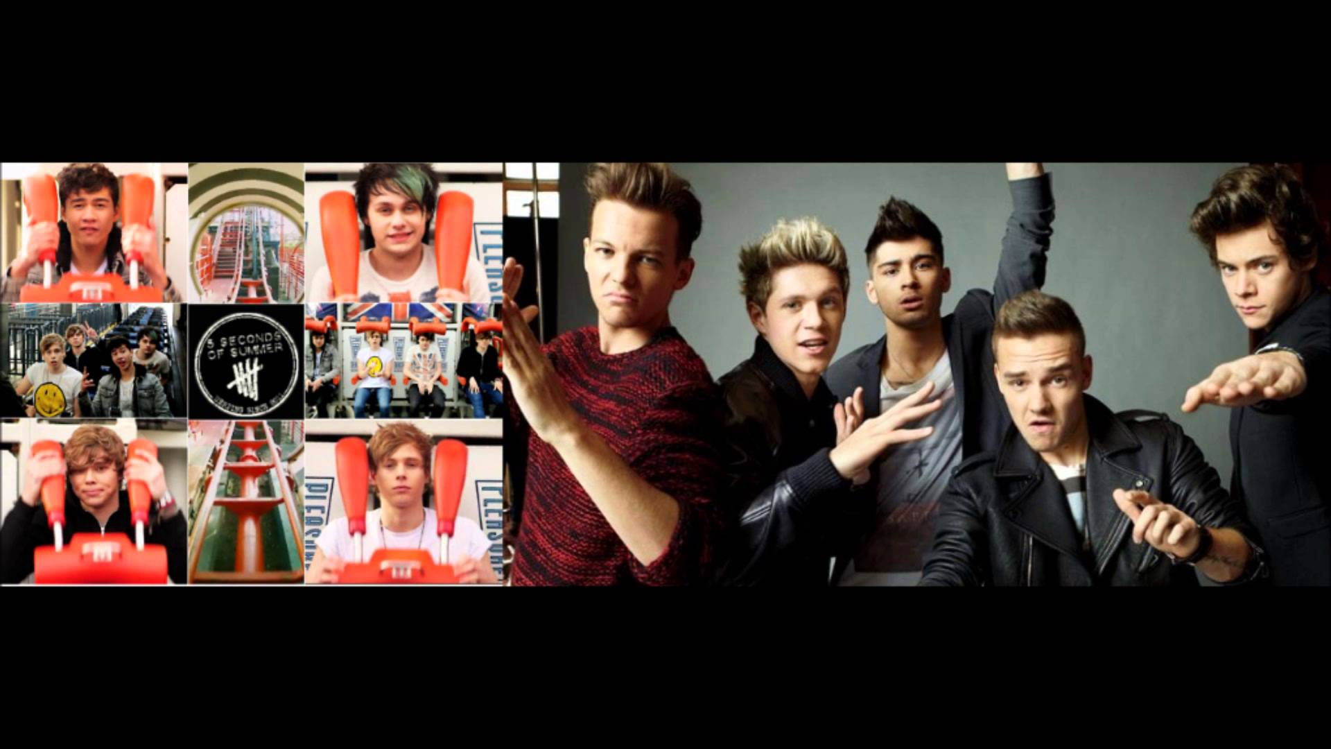 related pictures 5sos and one direction wallpaper Car Pictures 1920x1080