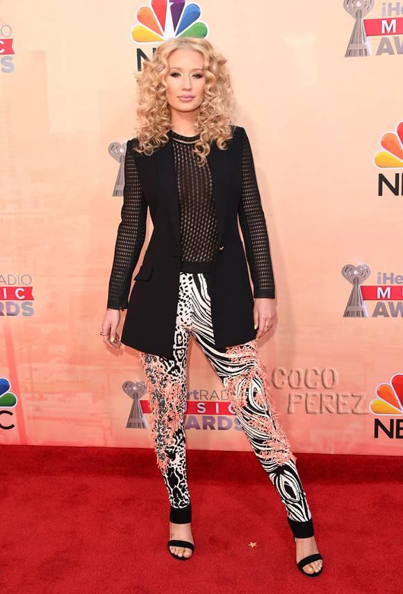 Iggy Azalea Lets Her Style Go Wild On The 2015 iHeartRadio 580x855