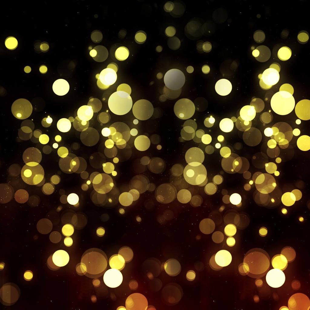 Glimmering Lights ipad wallpaper 1024x1024