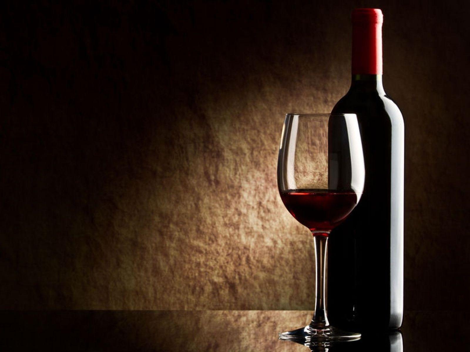 Wallpaper Wine Red Bottle Glass HD Desktop Wallpapers 1600x1200
