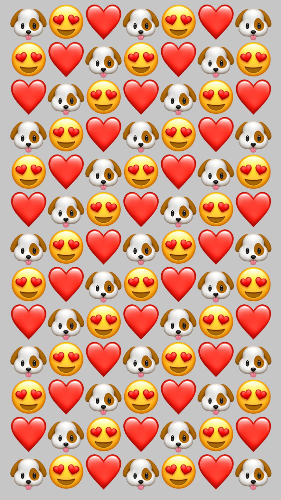 45 Emoji Iphone Wallpaper On Wallpapersafari