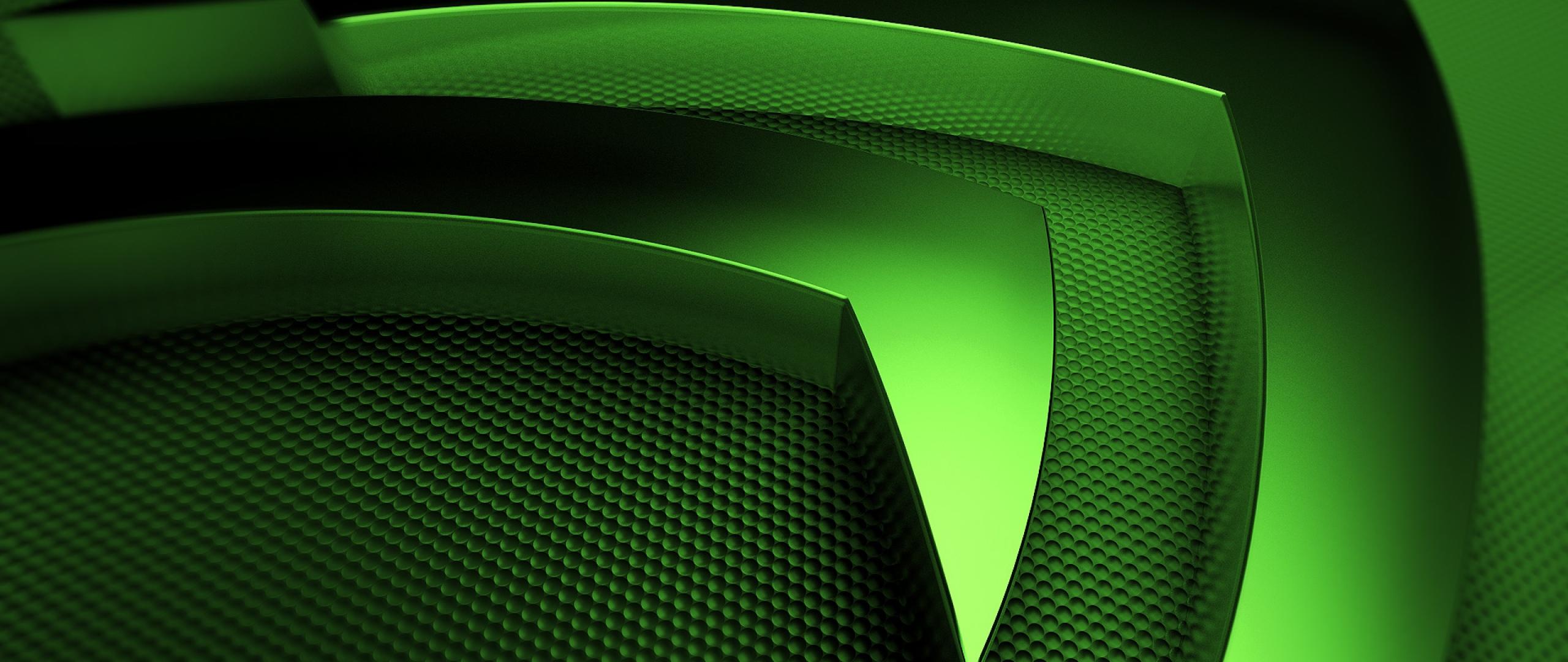 Download Wallpaper 2560x1080 nvidia green symbol 2560x1080 219 TV 2560x1080