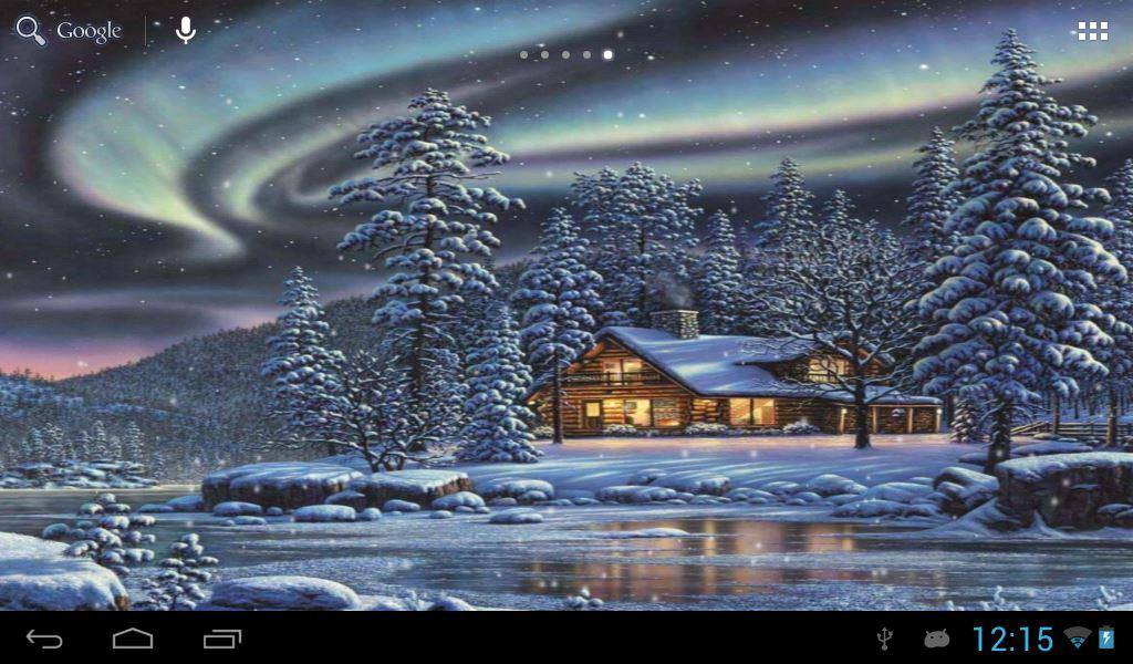 Top 7 beautiful winter snow live wallpapers for android.