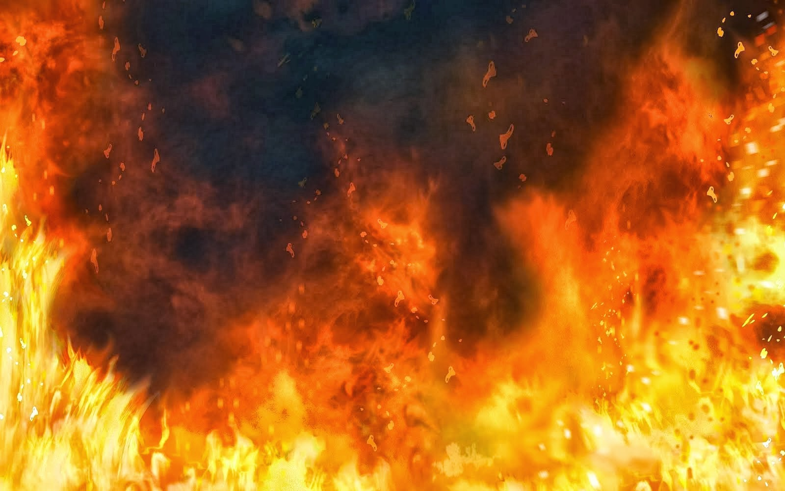 dark black fire wallpapers hd fire wallpaper picture image 5jpg 1600x1000