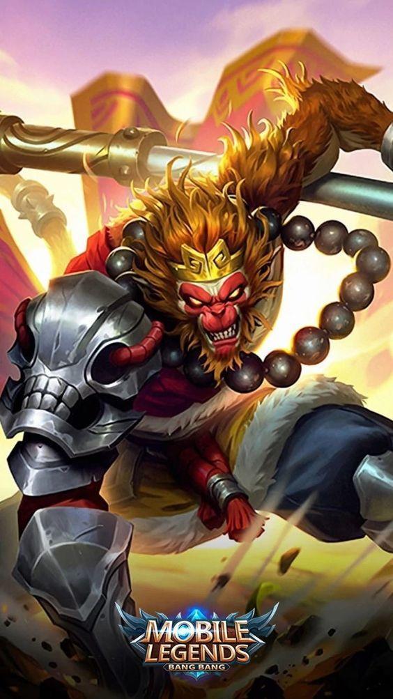 Mobile Legends Wallpaper   Monkey King Sun Mobile Legends 86823 564x1003