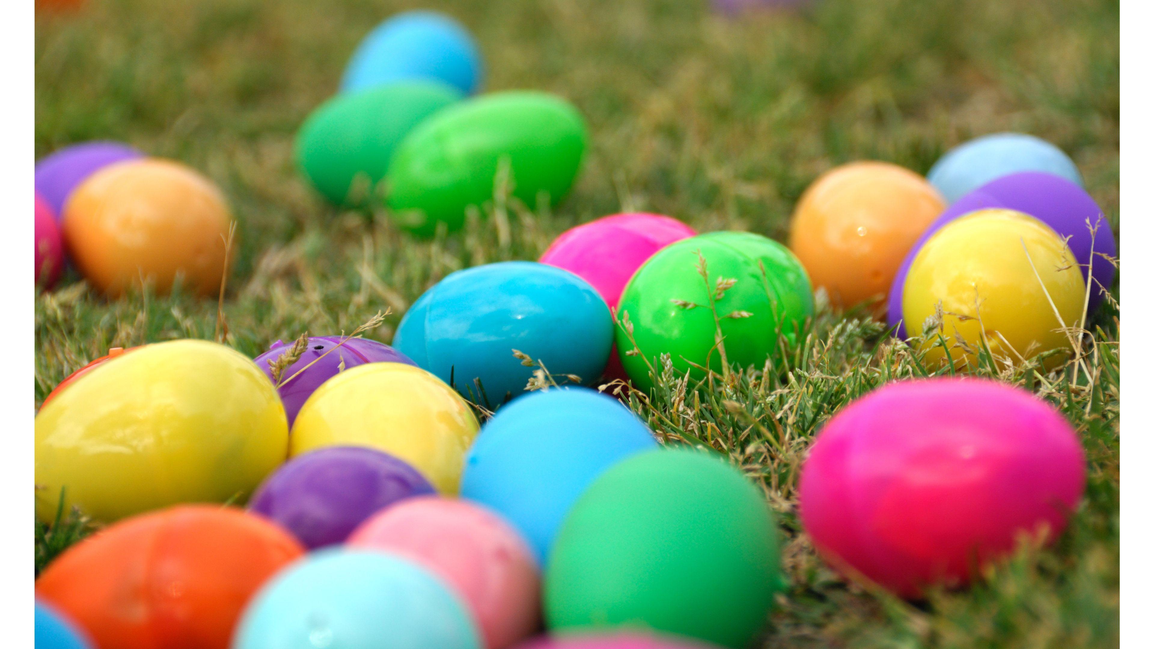 Colorful Eggs Easter 4K Wallpaper 4K Wallpaper 3840x2160