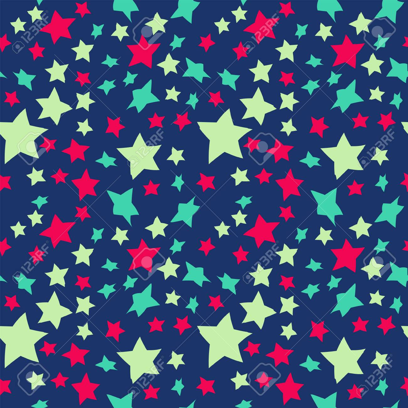 Star Patterned Wallpaper For Scrapbooking Memphis Style Royalty 1300x1300