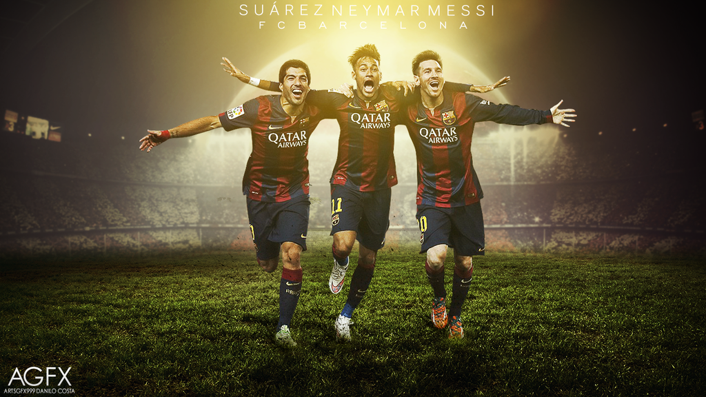 2015 Messi FC Barcelona Wallpapers The Art Mad Wallpapers 1024x576