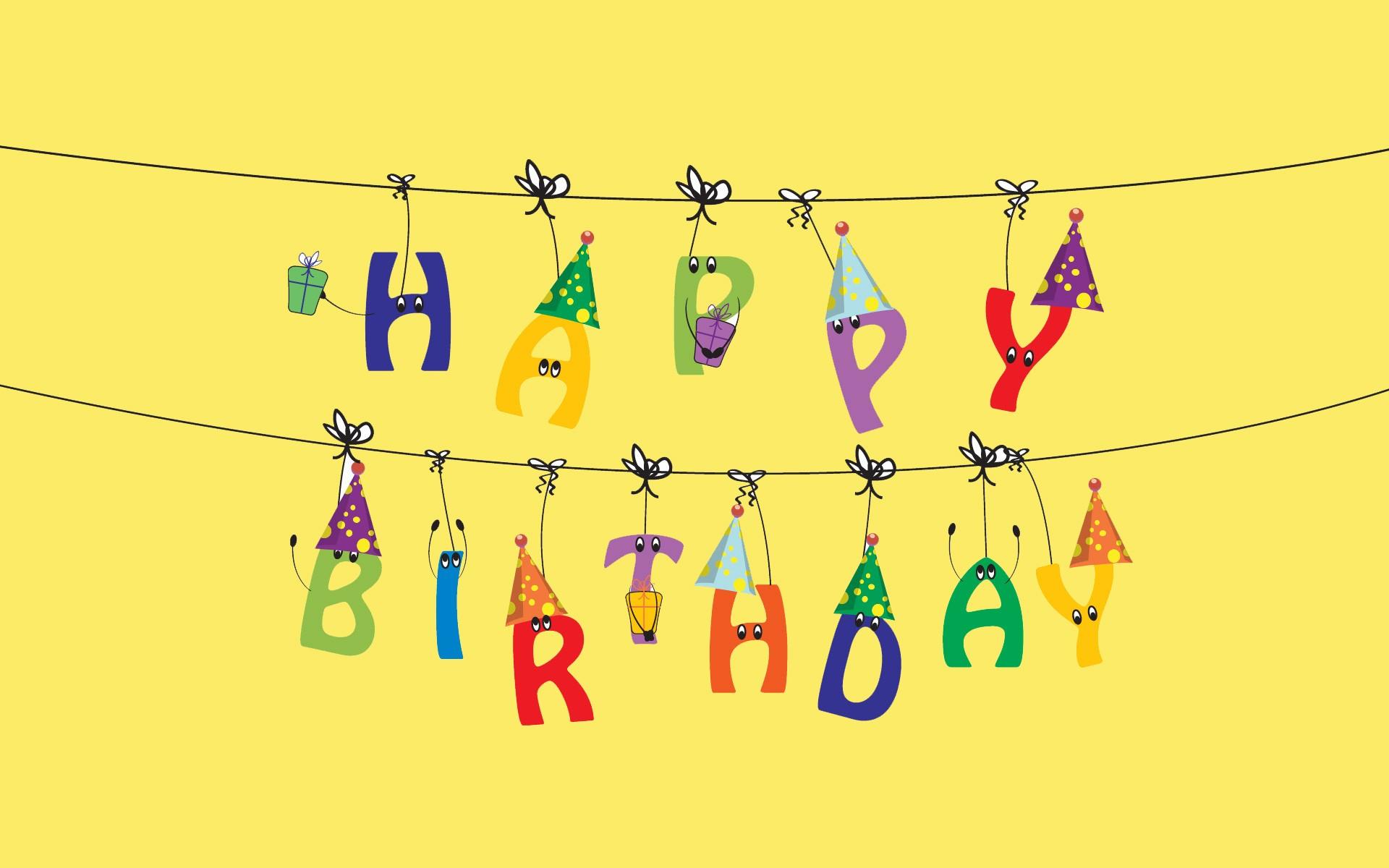 Pics Photos   Happy Birthday Funny Wishes Wallpaper Jpg 1920x1200