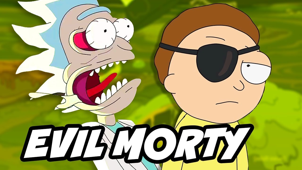 Free download Rick and Morty Season 3 Episode 7 Evil Morty