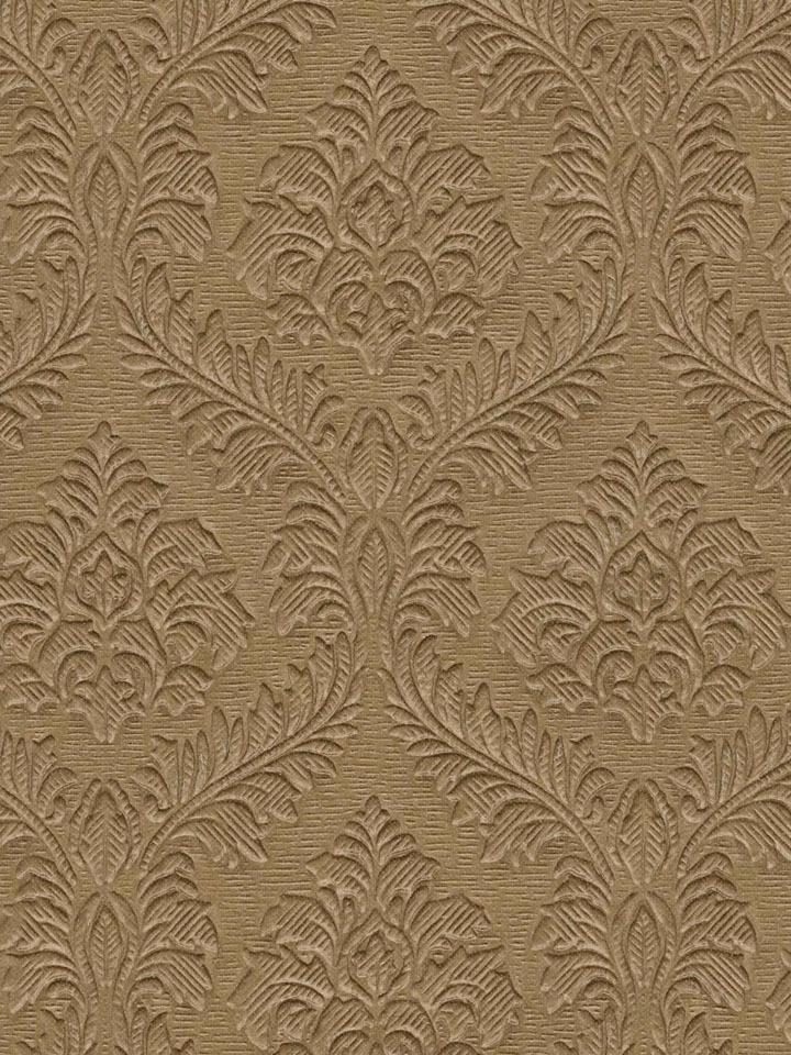 Brown Embossed Trellis Damask Wallpaper   Traditional Wallpaper 720x960