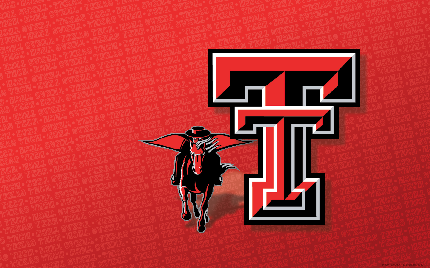 Texas Tech Masked Rider by Vertigo Creative   Desktop Wallpaper 1440x900