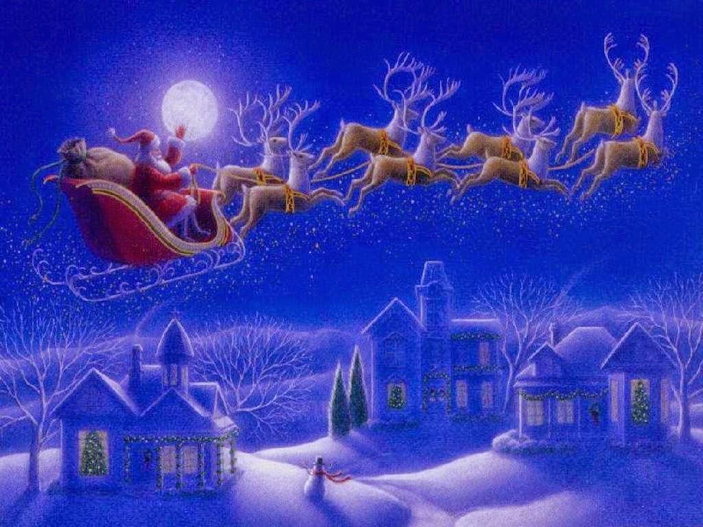Animated Christmas Wallpaper Wallpaper Animated 1024x768