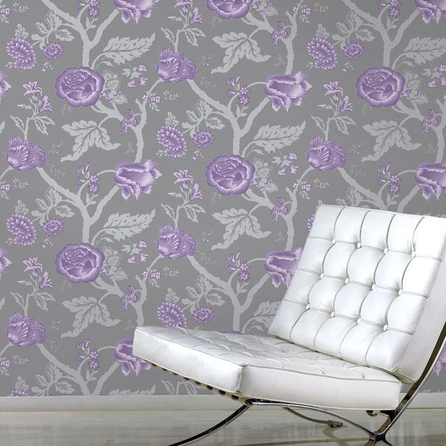 38 Grey And Purple Wallpaper On Wallpapersafari