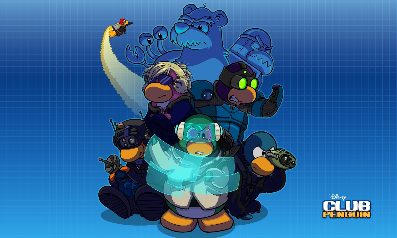 New Club Penguin EPF Wallpaper 1280x768