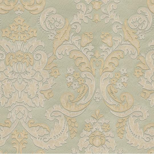 Home Shop By Brand Belgravia Tirano Sage Damask Wallpaper 540x540