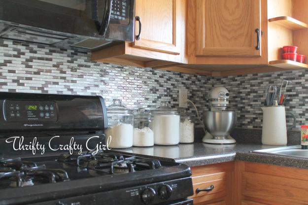 Free Download Diy Smart Tiles Kitchen Backsplash By Thrifty Crafty