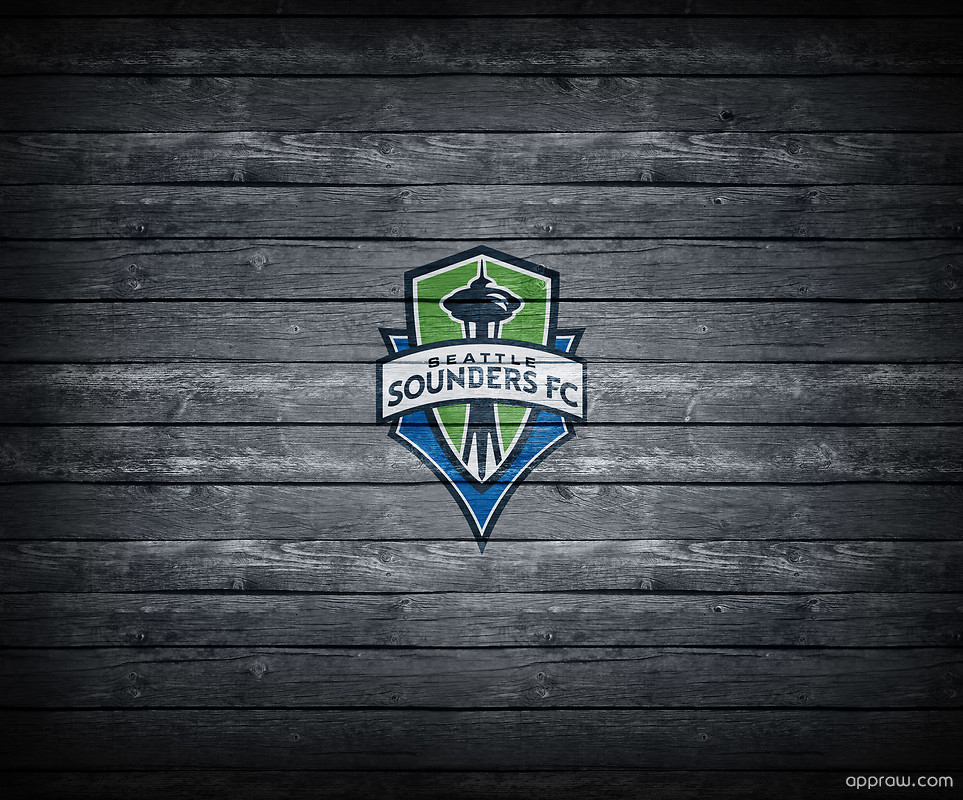Seattle Sounders FC Wood Wallpaper download   MLS HD Wallpaper 963x800