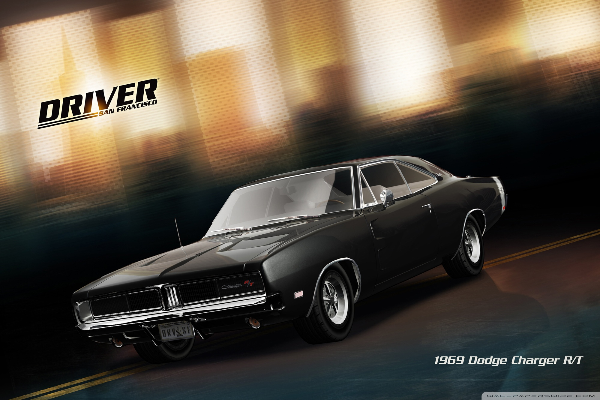 Driver San Francisco 1920 Dodge Charger RT 4K HD Desktop 2000x1333