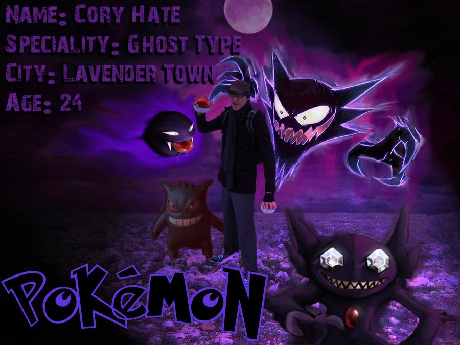 Ghost Pokemon Trainer by GrumpyCosplay 900x675