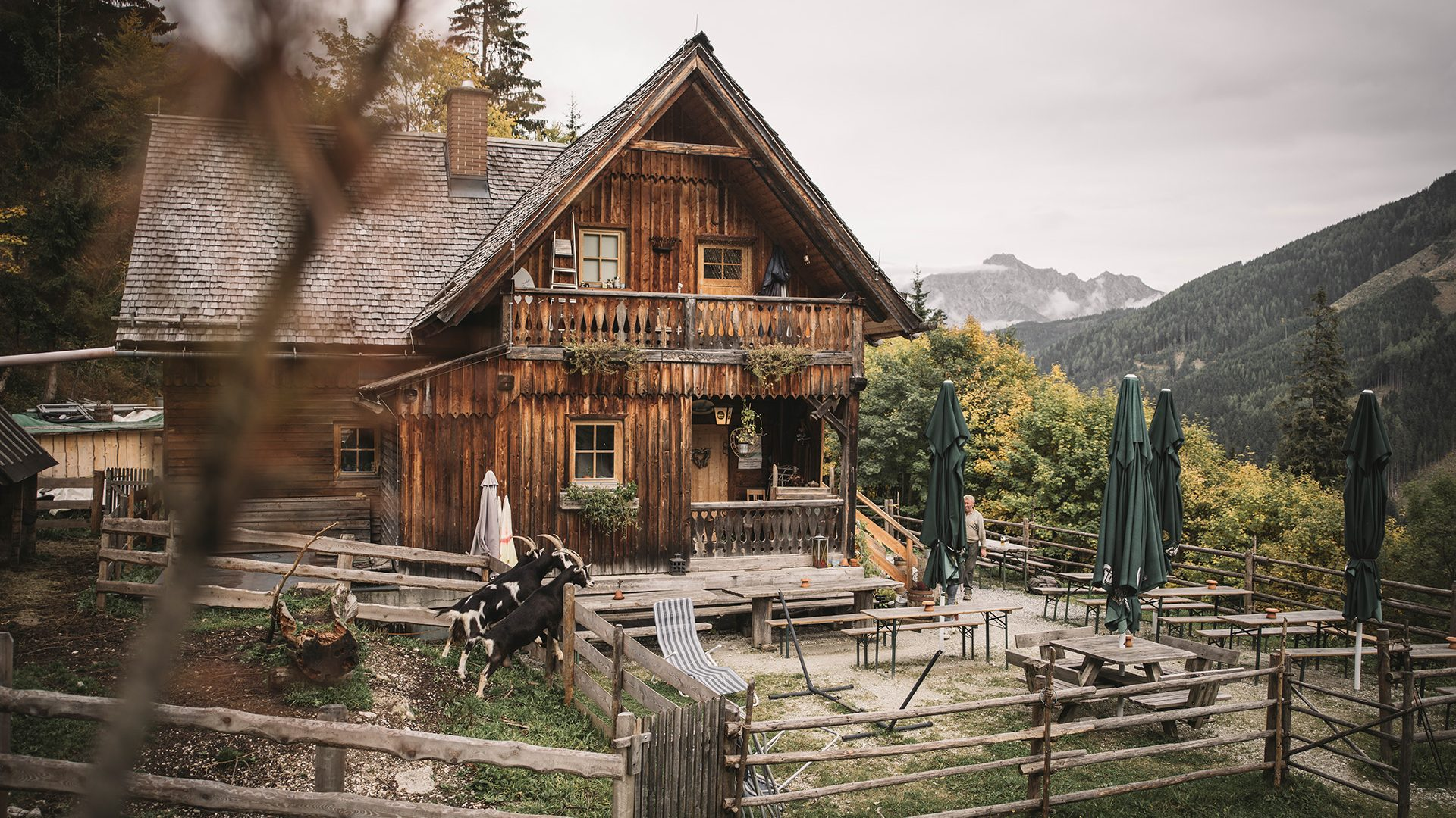 Ardning Alm Lodge The Gesuse in Styria 1920x1080