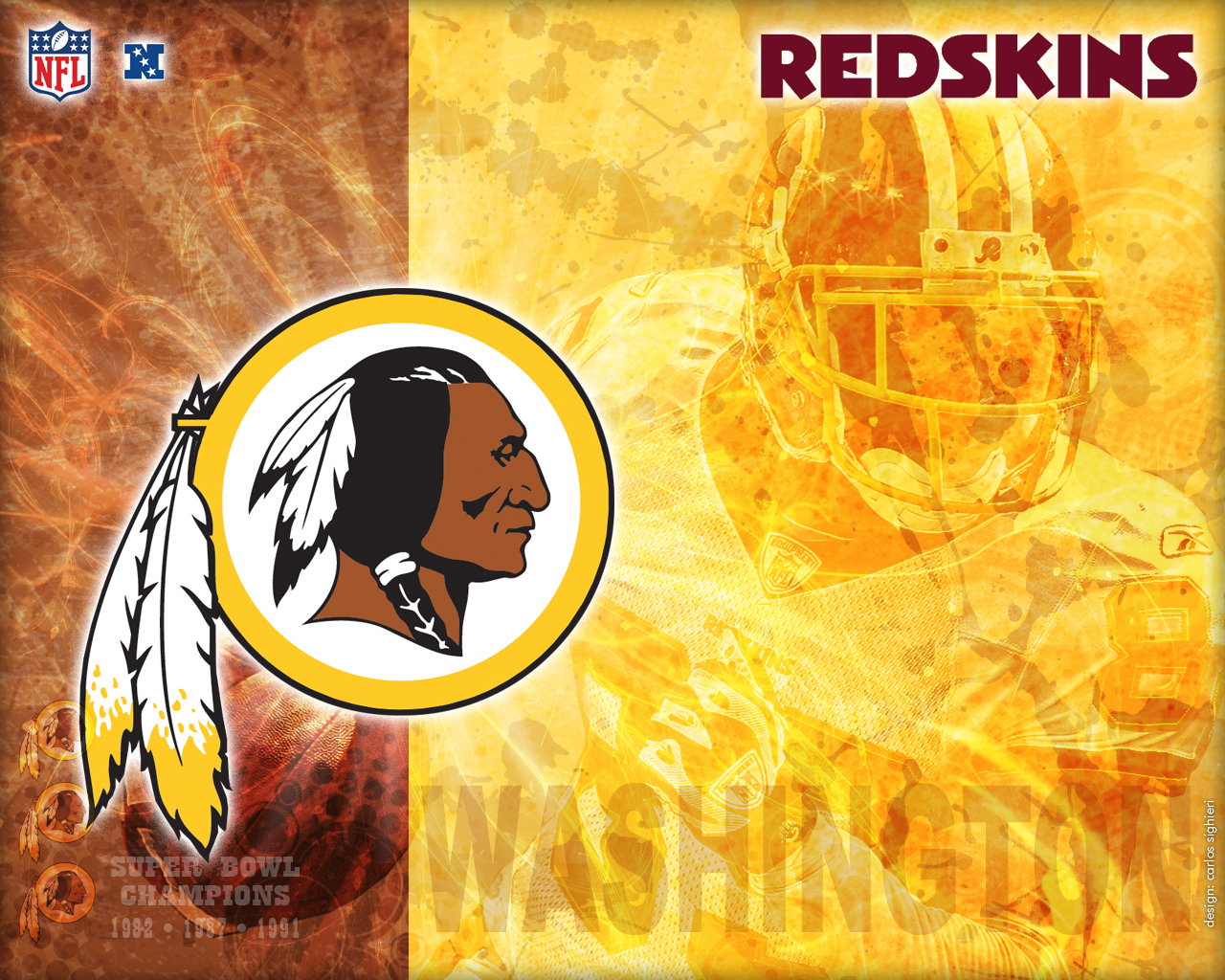 wallpaper washington redskins cas 1280x1024 photo 1280x1024