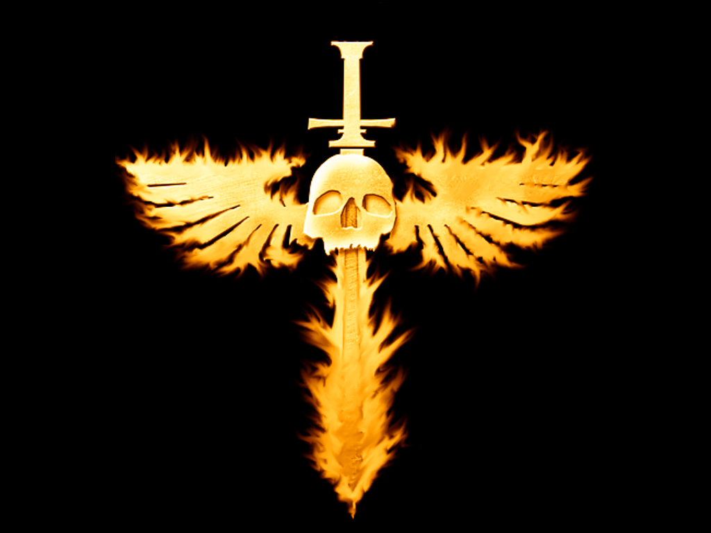 flaming winged skull wallpaper 1027png Photo by darknessking101 1024x768