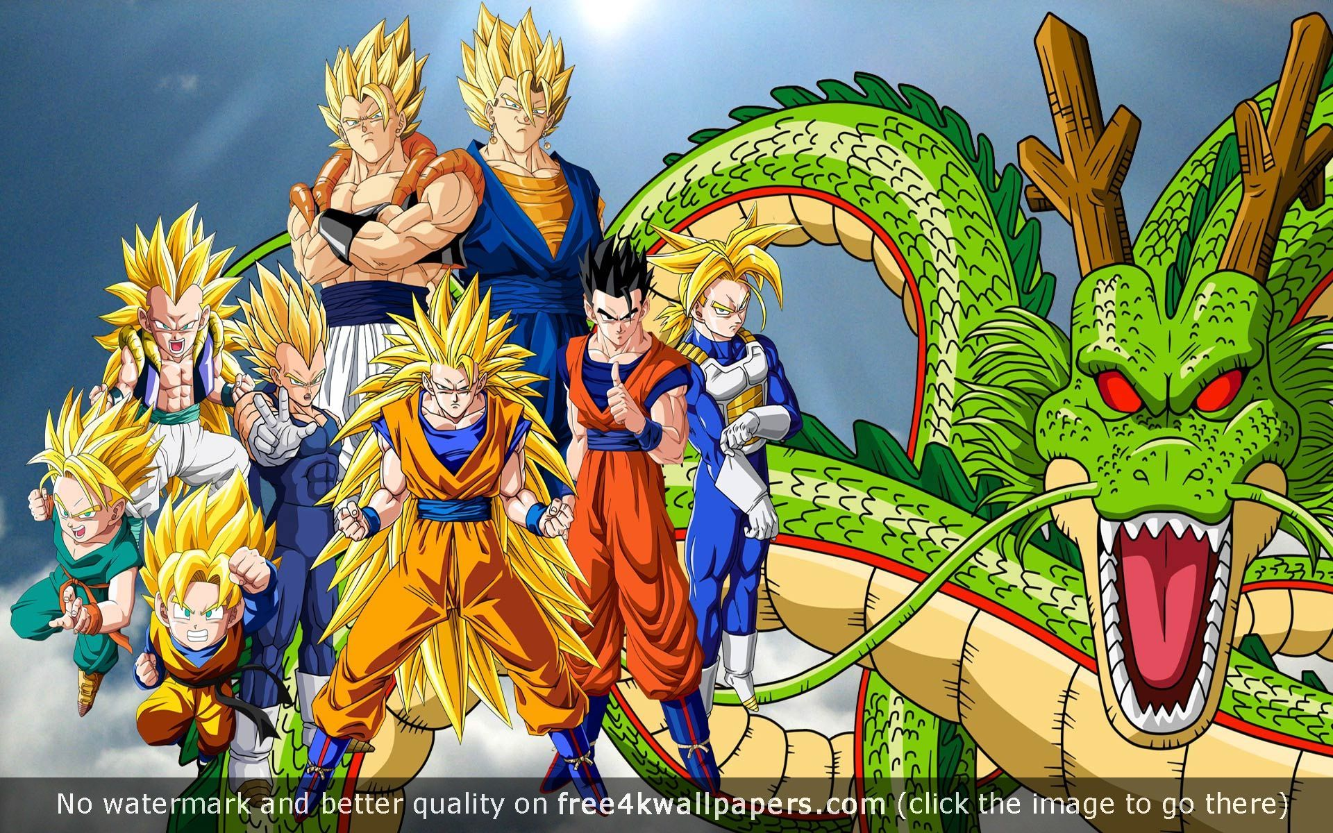 Dragon Ball Z S Hd 4K or HD wallpaper for your PC Mac or Mobile 1920x1200