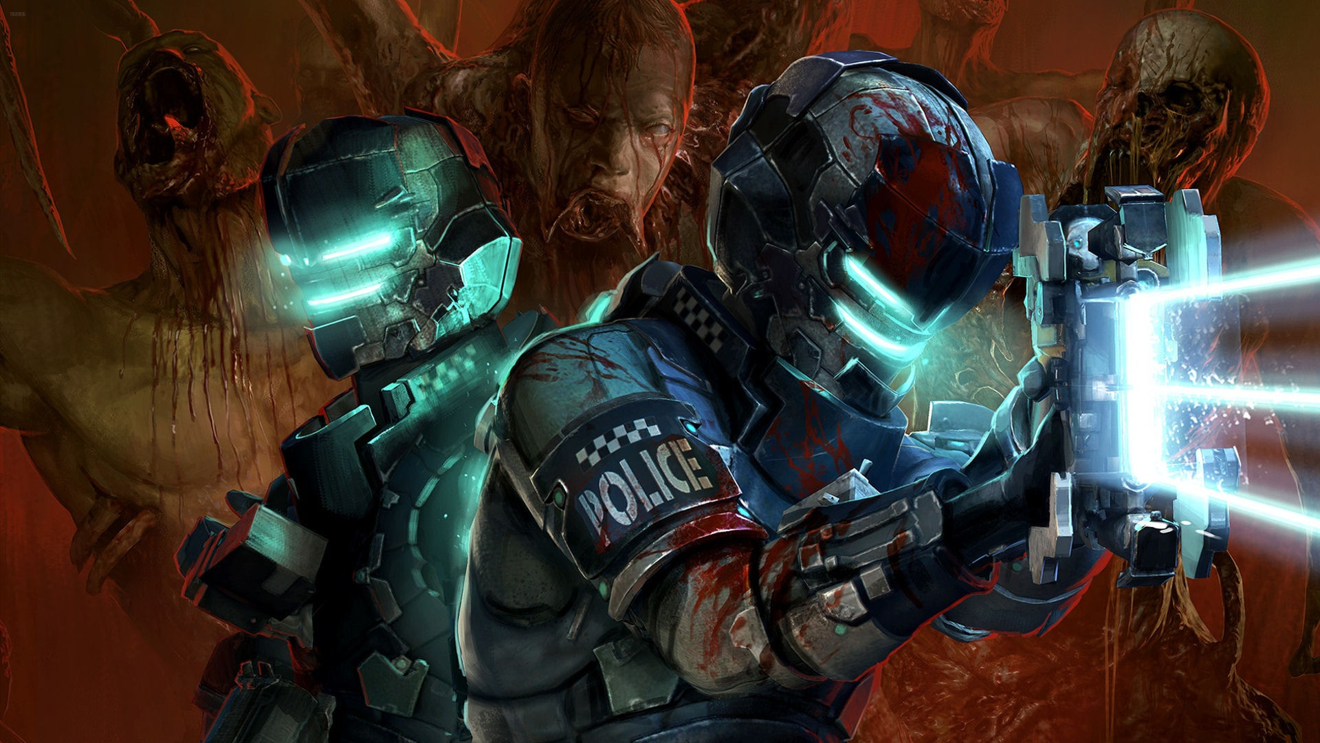: Dead Space 2 Suits Desktop Wallpaper is a hi res Wallpaper ...