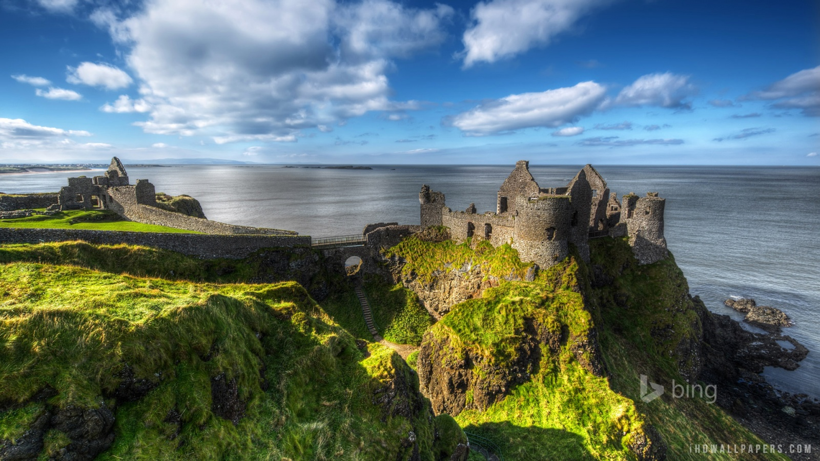 Download Ireland Wallpaper Widescreen Dunluce castle county antrim 1600x900