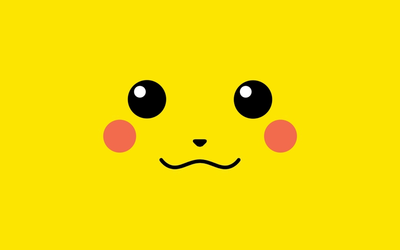 pokemon pikachu simple background Anime Pokemon HD Wallpaper 800x500
