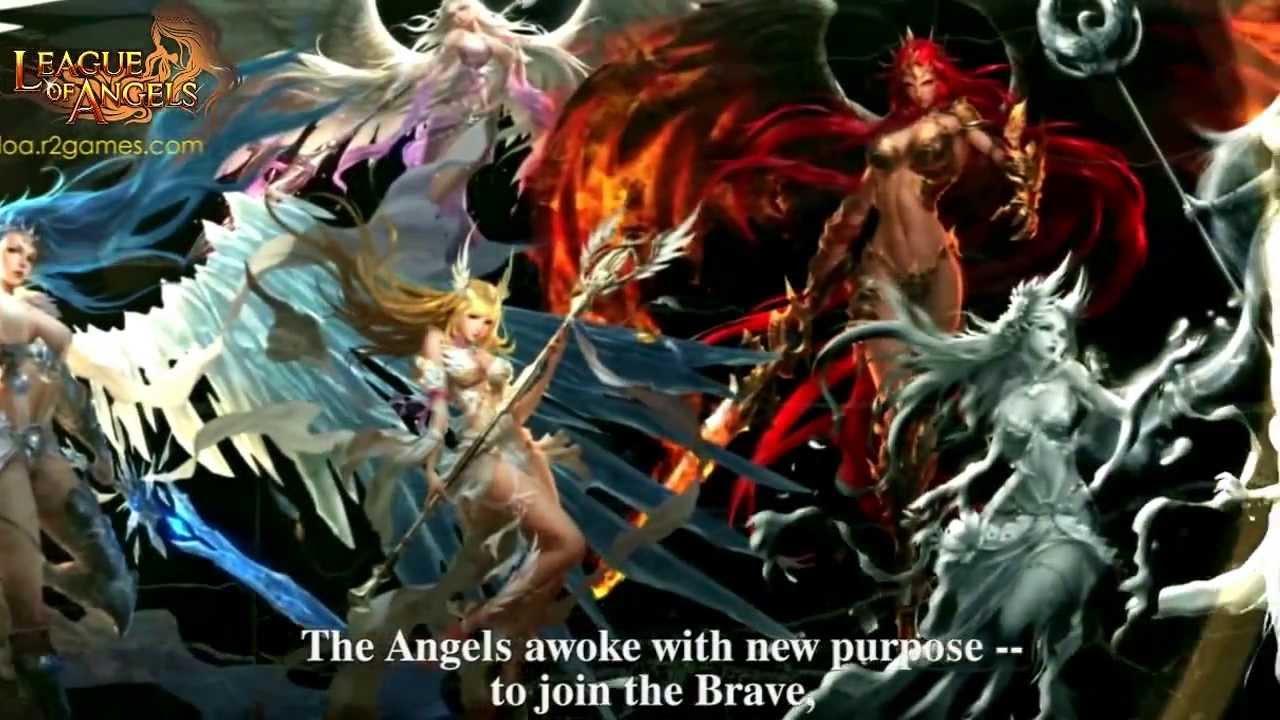 League of angels wallpaper hd 1280x720