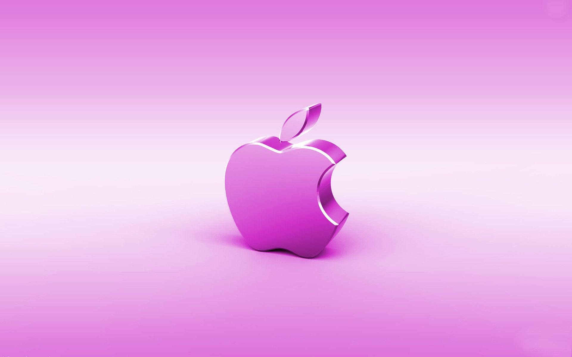 Hot Pink Apple Wallpaper Pink apple wal 1920x1200
