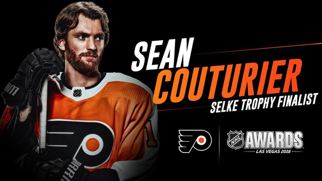 Sean Couturier named Selke Trophy Finalist 1024x576