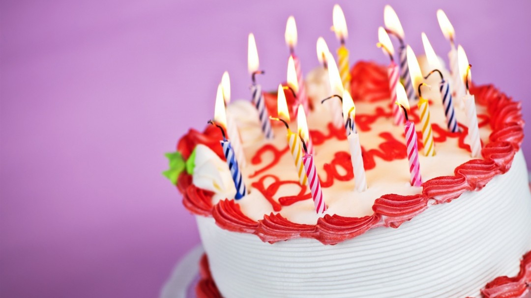Happy Birthday Cake HD Wallpaper of Greeting   hdwallpaper2013com 1080x607