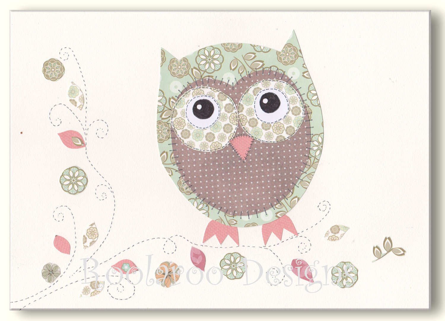 Owl Pictures For Kids To Color 1500x1084